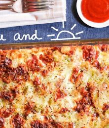 gluten free Ham and Cheese Breakfast Casserole