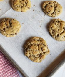 Maple Bacon Chocolate Chip Snickerdoodles